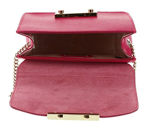 Leather Furla Crossbody Saffiano Bag Mini Gloss JULIA Shoulder ERnrz7E