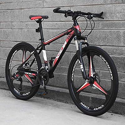 Adulto Bicicleta de montaña, Alta carbón del Marco de Acero ...