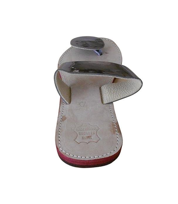 kalra Creations Mujer Tradicional Indio Pantuflas Mocasines Piel Pisos: Amazon.es: Zapatos y complementos