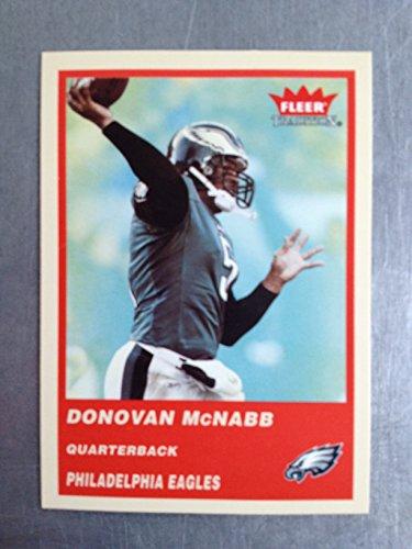 2004 Fleer Tradition Football 56 Donovan McNabb NM/M (Near Mint/Mint)