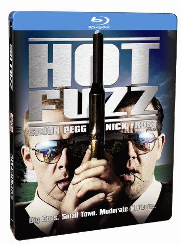 NEW Hot Fuzz - Hot Fuzz (2007) (steelbook) (Blu-ray)