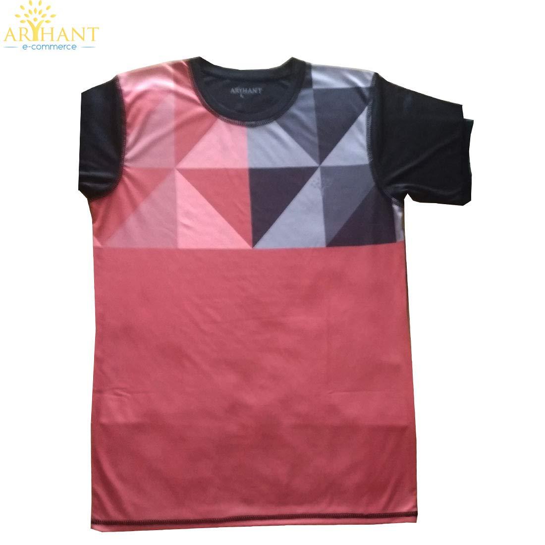34b9a458 Arihant Ecommerce Digital Printed Round Neck T-Shirt Men Women   Best Gift  Brother & Sister   Half Sleeve T-Shirt  Round Neck T Shirt  Digital Printed  ...