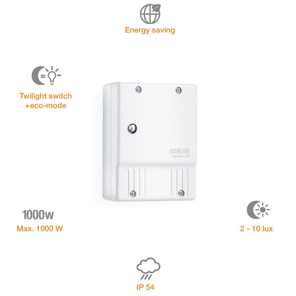 Steinel 550417 Regulador de Intensidad, 1000 W, Blanco: Amazon.es: Bricolaje y herramientas