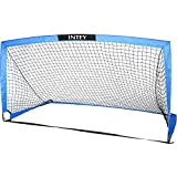 INTEY Soccer Goal Portable Soccer Nets with Carry Bag for Games and Training for Kids and Teens- Sizes 6'6''x3'3''