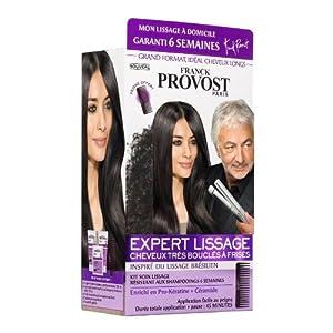 Franck Provost - Kit 6 Semaines Expert Lissage Pour Cheveux Bouclés à Frisés