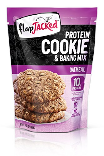 FlapJacked Protein Cookie & Baking Mix, Oatmeal, 9 Ounce