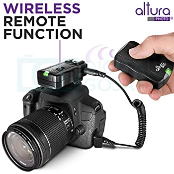 Altura Photo Professional Flash Kit For Nikon Dslr - Includes: I-ttl Flash (Ap-n1001), Wireless Flash Trigger Set & Accessories 8
