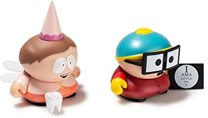 Kidrobot South Park Many Faces of Cartman 3 inch Vinyl Figure New Tooth Fairy