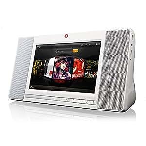 YYYBW Portable Intelligent Tablet Speaker Wireless Bluetooth Receiver Speakers Internet Cloud Music FM Radio TF
