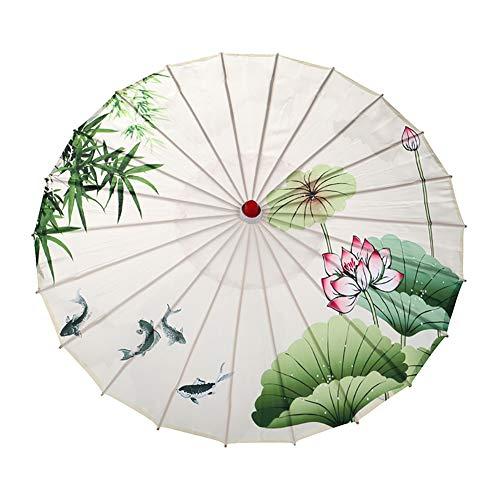 Umbrella Paper Oiled - Forart Rainproof Handmade Chinese Oiled Paper Umbrella Sunshade Oil Paper Oriental Parasol