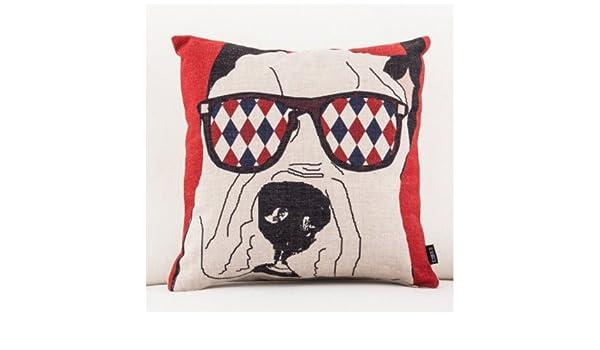 MAYUAN520 Cojines Animales De Dibujos Animados Oso Perro ...