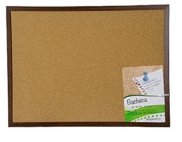 Pizarra tablón de notas de corcho para chinchetas con marco ...