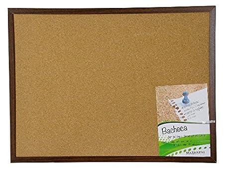 Pizarra/tablón de notas, de corcho, para chinchetas, marco ...