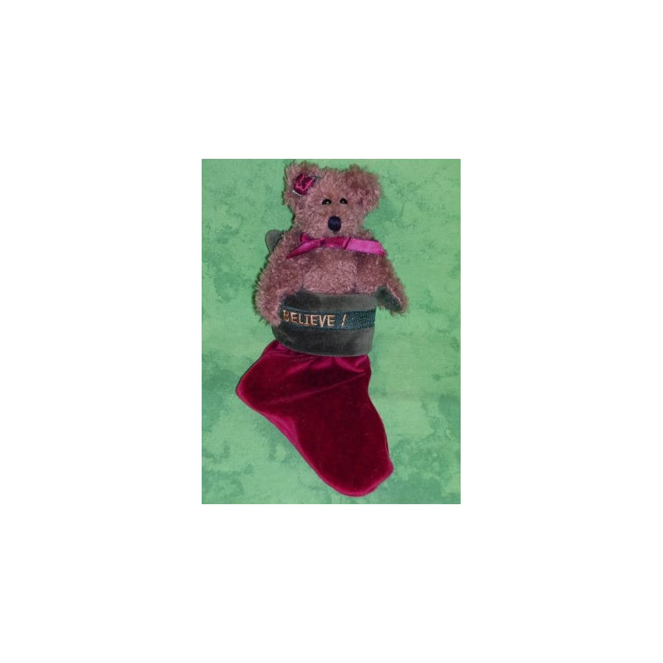 Boyds Bears   The Archive Collection   Felicity S. Elfberg 1997 Limited Edition Christmas Bear
