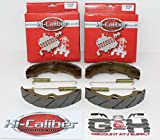 2 Sets WATER GROOVED FRONT BRAKE SHOES & SPRINGS for the 1989-1995 Yamaha YFM 350 Big Bear FW 4WD