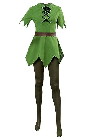 Sinastar Disfraz de Peter Pan para Cosplay, Fiesta de Halloween ...