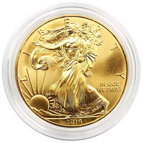 1986-2018 24K Gold Plated American Silver Eagle $1 BU