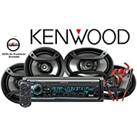 Kenwood KDC-X501 eXcelon CD Receiver with Red 800 Series Kenwood Headphones KH-SR800R and One Pair of TS-165P 6.5 & One Pair of TS-695P 6x9 Pioneer Speakers with a FREE SOTS Air Freshener