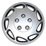1987 chevy caprice hub caps - TuningPros WSC-807S15 Hubcaps Wheel Skin Cover 15-Inches Silver Set of 4