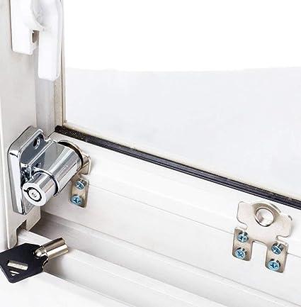 1 Unids/lote Ventana Corredera Cerradura de Seguridad para Niños Cerradura Antirrobo Cerradura de Puerta