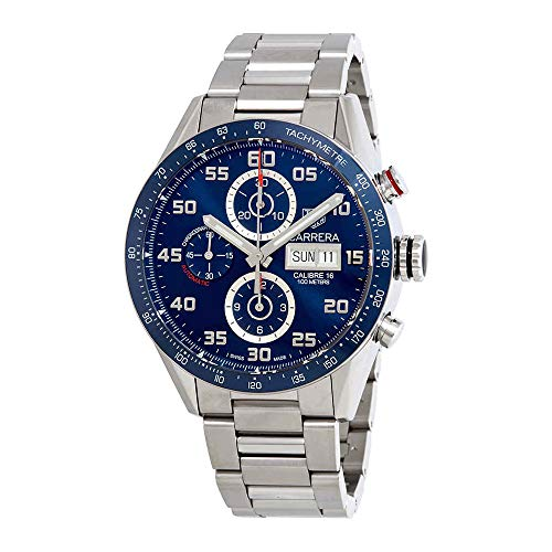 Tag Heuer Carrera Day Date Automatic Chronograph 43mm Mens Watch CV2A1V.BA0738