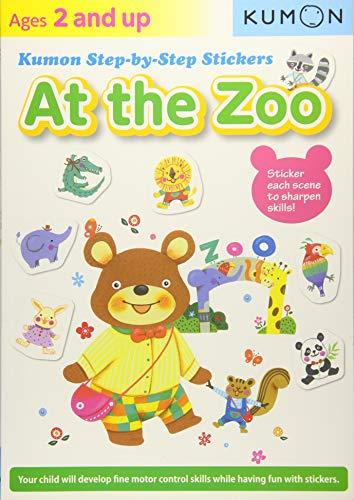 Kumon Step-by-Step Stickers: At the Zoo (My 2 Year Old Isn T Talking)