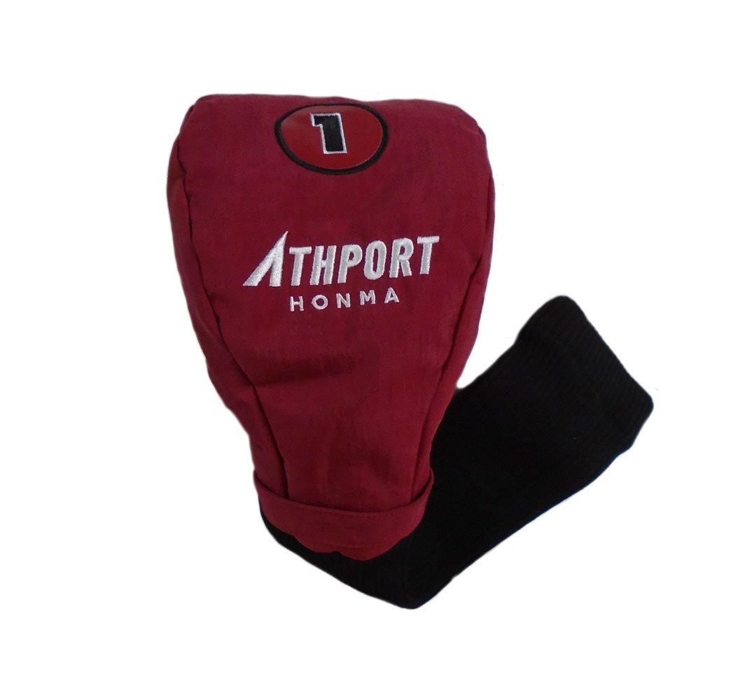 品質一番の 新しい本間athportマルーン/ブラックゴルフドライバー用ヘッドカバー B0799NK9S3 B0799NK9S3, CANSASS jeans:7fe10e94 --- a0267596.xsph.ru