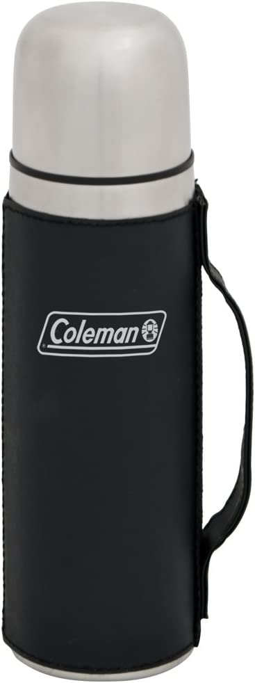 Coleman Stainless Steel Vacuum Bottle, 16-Ounce, Black