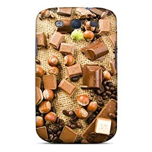 Premium [LqFXnQv4905oZCqY]nuts Coffee Chocolate Case For Galaxy S3- Eco-friendly Packaging