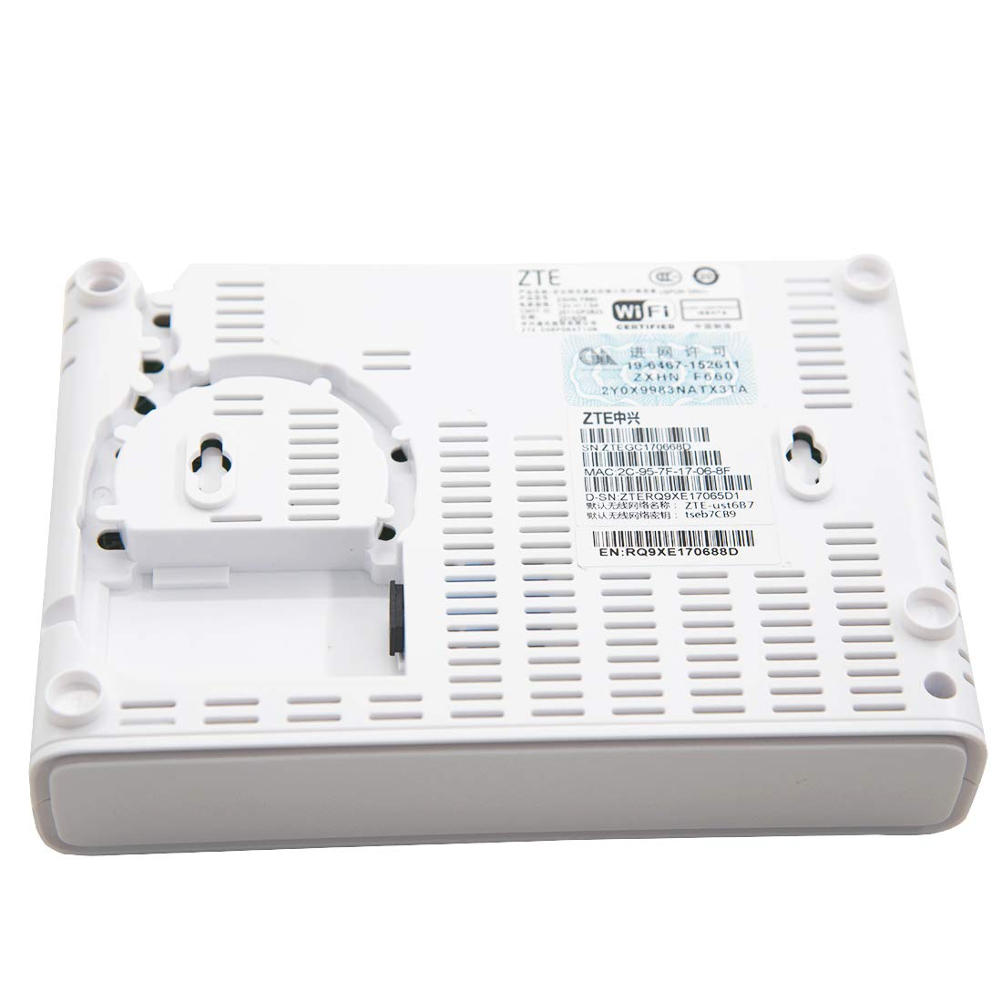 Amazon com: CATVSCOPE GPON ONU F660 Version 5 0 lITU-T G 984 with