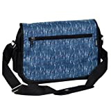 Everest Casual Messenger Briefcase, Blue, One Size