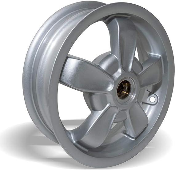 Rear Wheel Rim 3 00 X 11 Silver Vespa Suitable For Primavera 50 2t Auto