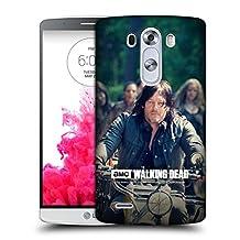 Official AMC The Walking Dead Bike Ride Daryl Dixon Hard Back Case for LG G3 / D855 / D850 / D851