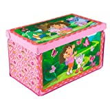 Delta Enterprise Nickelodeon Dora the Explorer Fabric Toy Box
