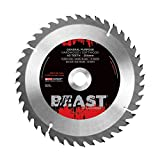 Lackmond Beast General Purpose Saw Blades - 10'' Wood Cutting Tool with 40 Teeth for Versatile Cuts & 5/8'' Arbor - WGPB10028