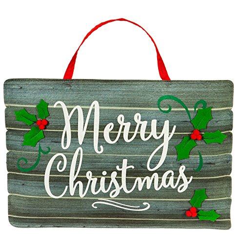 Evergreen Merry Christmas Outdoor Safe Door (Merry Christmas Door)