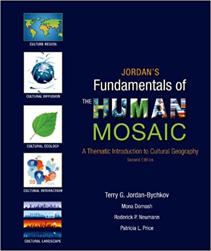 Jordans fundamentals of the human mosaic a thematic introduction jordans fundamentals of the human mosaic a thematic introduction to cultural geography second edition fandeluxe Choice Image