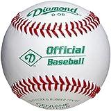 Diamond D-Ob Official Leather Baseballs 12 Ball Pack