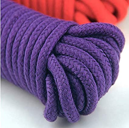 10 M//33 Feet 8 MM All Purpose Cotton Rope Craft Rope Thick Cotton Cord WYSUMMER Soft Rope Cord