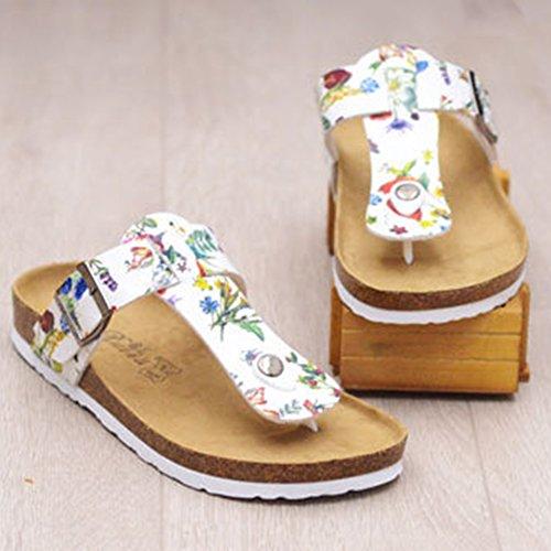 Sandale Flattie Femmes Eté Mules Flops Tongs Flip Fleur Sandales Plat 1Ftfqq6wx