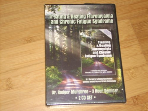 3 hour Audio CD Seminar - 2CD set! Treating & Beating Fibromyalgia and Chronic Fatigue Syndrome: a step-by-step program proven to help you get well again! Recorded at teh Fibromyalgia Coalition International Conference Kansas City in May 2007