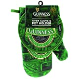 Oven Glove & Pot Holder with St. James Gate Print - Guinness Ireland Collection