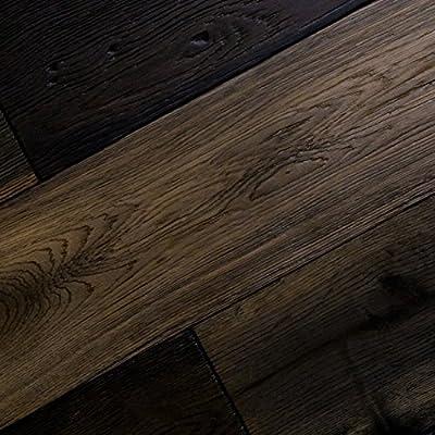 "Heathered Oak Nantucket Grey Prefinished Solid Hardwood Flooring 3/4"" x 5"" HONG - SAMPLE"