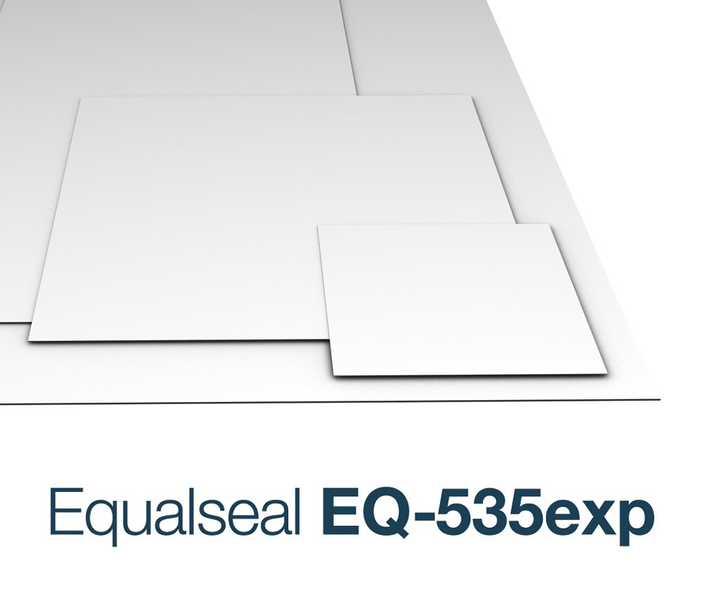 Equalseal EQ535 Expanded PTFE Gasket Sheet - 1/16'' Thick - 14.5'' x 14.5'' by Equalseal