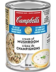 Campbell's 40% Less Sodium Cream of Mushroom Soup, 284 mL