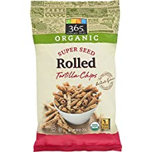 365 Everyday Value, Organic Super Seed Rolled Tortilla Chips, 10 oz