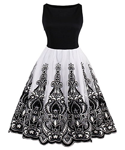Black White Prom Dresses - 8