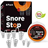 Snore Stopper Solution - Anti Snoring Nose Vents - Set of 4 Nasal