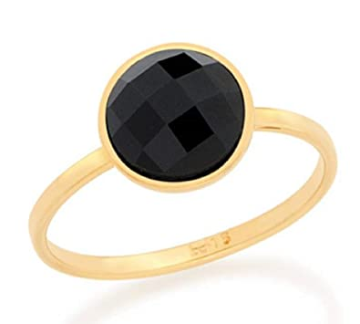 f534a82ed9eab Amazon.com: Gold Plated Ring with Stone ROMMANEL 51260816: Jewelry