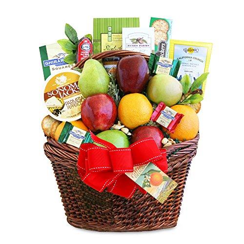 California Delicious Abundance Fruit Gift Basket by California Delicious
